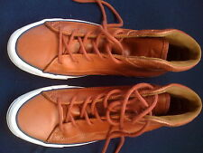 JACK PURCELL CONVERSE Genuine Leather British-Tan High Top Sneakers Boots S