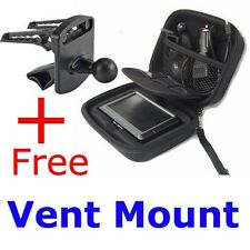 "Case+Car Mount for Garmin Nuvi 4.3""GPS 1300 1350 1350T 1350LMT 1370T 1390T 1690"