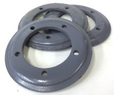 """UNKNOWN BRAND, FLANGE,  PX 70, 3 1/8"""" ID, 5 3/4"""" OD, 1/2"""" THICKNESS, LOT OF 3"""