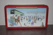 "Collectible ""The Sand Beach Covered Bridge"" Hershey, PA. Holiday Tin"