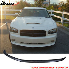 05-10 Dodge Charger OE Factory Style Front Bumper Lip Unpainted - Poly Urethane