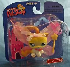 L2 LPS  Target exclusive retired fairy princess kitty cat with wings+