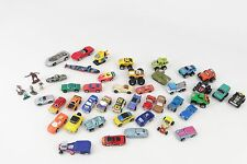 HUGE LOT OF 42 VINTAGE MICRO MACHINES AND CARS TRUCKS