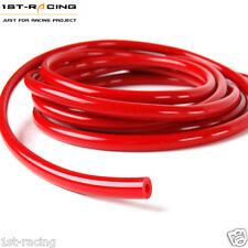 "1 FOOT ID:5/32"" OR 0.16""(4MM) SILICONE VACUUM HOSE TUBE PIPE RACING TURBO RED"