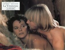 SEXY LAURA ANTONELLI JASON CONNERY LA VENITIENNE 1986 VINTAGE PHOTO LOBBY CARD