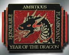 Chinese ZODIAC - YEAR OF THE DRAGON Spinner Poker Card Guard Cover New