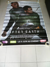 AFFICHE CINEMA ROULEE - AFTER EARTH - WILL SMITH - PREVENTIVE - 120x160