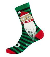 Gumball Poodle Crew Socks - Santa 2 With Beard! - Unisex