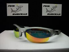 FINZ POLARIZED SPORT GOLF FISHING SILVER / GOLD MIRROR LENS....AWESOME