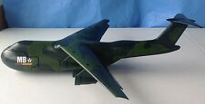 Rare BIG Matchbox C-5 Galaxy Plane 1993 plastic green camo vintage military MB