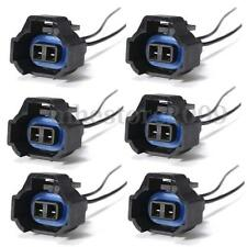 6x Female Fuel Injector Connector Electrical Plug Adapter For Kia Nissan Toyota