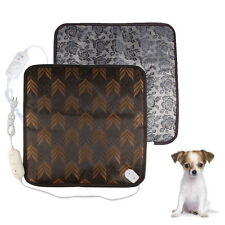 Pet Dog Cat Puppy Waterproof Electric Heating Pad Heater Warmer Mat Bed Blanket