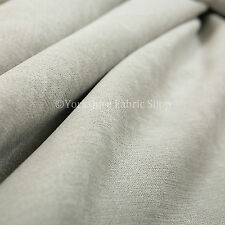 10 Meters Of Soft Matt Chenille Sofas Furnishing Upholstery Fabric Silver Colour