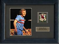 BOBBY MOORE WEST HAM UNITED FRAMED 35MM FILM CELL GREAT GIFT