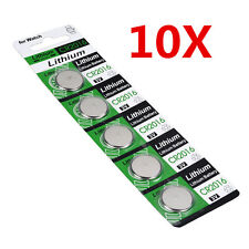 10X CR2016 3V Batteries CR 2016 DL2016 ECR2016 3V Button Coin Cell Battery Pack