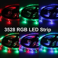 5M/Roll 3528 SMD Non-Waterproof 300Led RGB 16 Color Change Flexible Light Strip