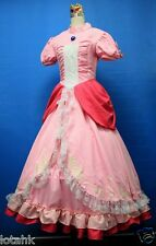 Mario Brothers Princess Daisy Cosplay Custom Made Pink ver
