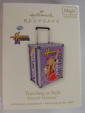 LOT OF 5 NIB 2010 HALLMARK TRAVELING IN STYLE DISNEYS HANNAH MONTANA MILEY CYRUS