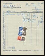 FT0029 Casa Editrice Libraria LUIGI LOFFREDO - Napoli - Fattura d'epoca