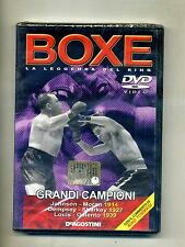 BOXE - LA LEGGENDA DEL RING # De Agostini Editore DVD-Video 2005
