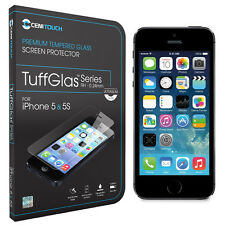 Cenitouch® - ULTRA SLIM Tempered-Glass Screen Protector for iPhone 5S / 5C / 5