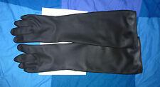 guanti industriali 60 cm Guanti di gomma nero industriale gomma guanti #20