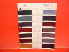 1983 FORD MUSTANG LINCOLN CONTINENTAL MARK VI MERCURY GLASURIT PAINT CHIPS