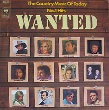 The Country Music Of Today - Wanted: No.1 Hits (CBS Vinyl-LP Holland 1973)