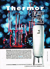 PUBLICITE ADVERTISING 035  1966  THERMOR    chauffe-eau cuve  FLEXOVER