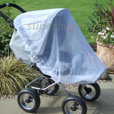 Large Baby Pram Stroller Pushchair Buggy Mosquito Insect Net- Protects Safe Mesh