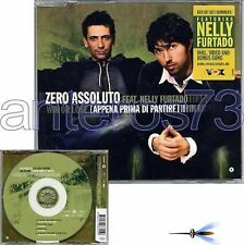 ZERO ASSOLUTO feat NELLY FURTADO CDsingle GERMANY+VIDEO
