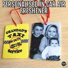 PERSONALISED Car Air Freshener Fragrance Gift Scent