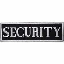 SECURITY Guard Embroidered Iron Sew On Shirt Vest Safety Jacket Badge Patch
