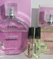 2 of 5ML CHANEL- CHANCE EAU TENDRE and CHANCE EAU FRAICHE for travel, fitness ,