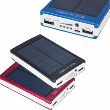 Dual USB Portable Solar Battery Charger Power Bank 30000mAh For iPhones, Samsung