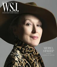 MERYL STREEP WSJ WALL STREET JOURNAL MAGAZINE SEPTEMBER 2016 patti smith
