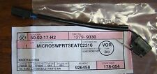 SAAB 12-799-330 FRONT SEAT MICRO SWITCH NOS OEM