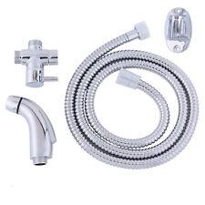"""Hand Held Bidet Shower Bathroom Spray 7/8"""" T-adapter Full Set Shattaf MB-560 Hot"""