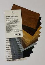 Farbfächer, Trocal DecoStyle, Renolit, Folie, Fenster, gebraucht
