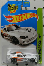 DODGE BOYS VIPER WHITE SRT10 ACR MOPAR RACE CAR HW HOT WHEELS