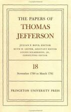 The Papers of Thomas Jefferson, Vol. 18: November 1790 to March 1791