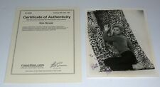 Kim Novak Signed 8x10 Vintage Photo COA RR Enterprises Vertigo