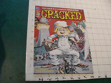vintage HIGH GRADE magazine: CRACKED probably unread #125 JULY 1975 earthquack