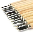 12pcs Professional Wood Carving Hand Chisels Knife Woodworkers Gouges Lathe Tool