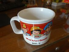 """Campbell's Soup cup M'm! M'm! Good! 1998 by Westwood 3 1/2"""" tall mug Campbell"""