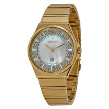 Seiko Core Solar Mother of Pearl Dial Ladies Watch SXDG14