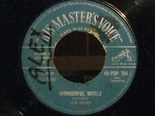 "SAM COOKE-""WONDERFUL WORLD-ALONG THE NAVAJO TRAIL""-HIS MASTER'S VOICE(RARE)GB-61"