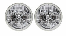 1965-1968, 1970-1973 Ford Mustang Halogen Headlights Tri-Bar Clear
