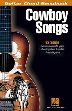 Cowboy Songs Sheet Music Guitar Chord SongBook NEW 000699636