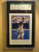 1999 Derek Jeter Topps Gallery Private Players Issue #20 #098/250 Gr 92-Sgccard